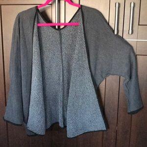 NWOT Hard Tail fleece kimono sleeve cardigan